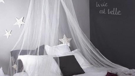 Atmosphera Créateur d'intérieur Síť proti hmyzu SKY, Moskytiéra, baldachýn nad postel - bílý, 60 x 250 cm