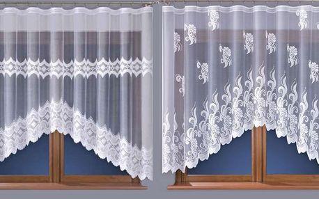 Kusové obloukové záclony: na výběr z 12 variant