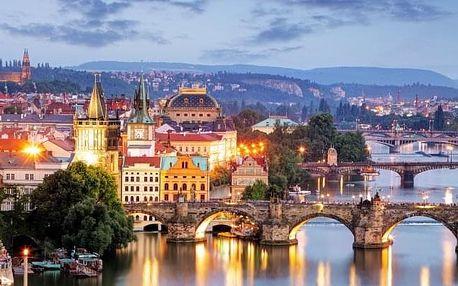 Praha v Academic Hotelu **** se snídaní, anebo se snídaní, večeří a saunou