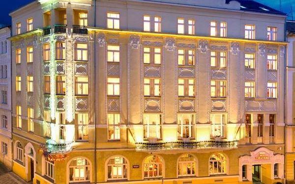 Zimní Praha v nádherném secesním hotelu 3 dny / 2 noci, 2 os., snídaně5