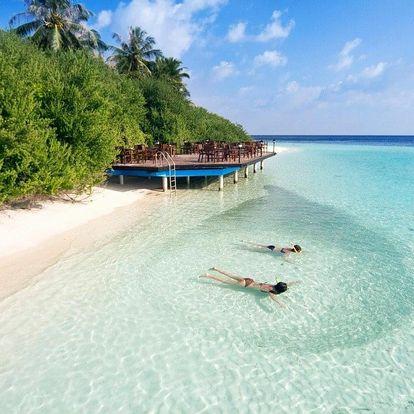 Maledivy - Kaafu Atol na 10 dní, plná penze nebo all inclusive s dopravou letecky z Prahy, Kaafu Atol