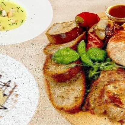 Degustační menu Oderberg i pivní lázně pro 2