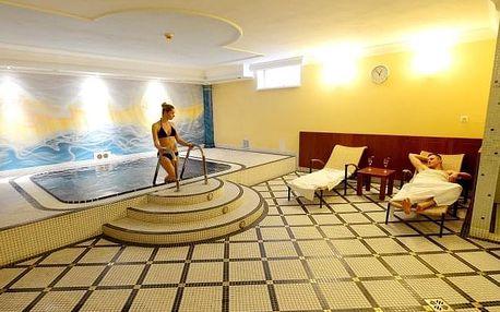 Hotel Tilia **** jen 20 minut od Bratislavy se snídaněmi a parádním wellness