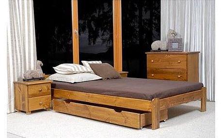 Úložný prostor pod postel - 150cm Borovice