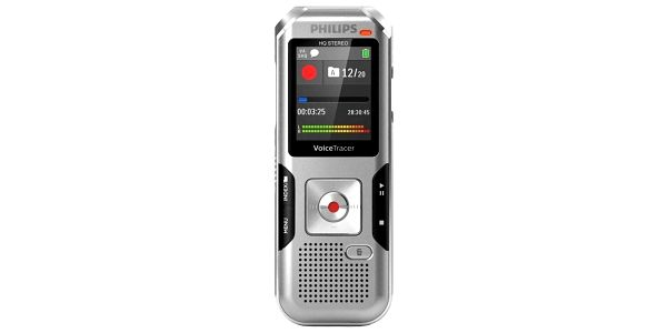 Diktafon Philips DVT4010 stříbrný