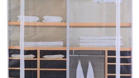 Emako Šatník, skříň na oblečení,160x88x50cm