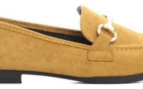 Dámské žluté mokasíny Mare 7324