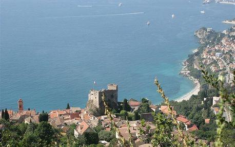 Francie - Azurové pobřeží (Francouzská riviéra) na 8-15 dnů