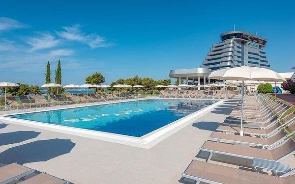 Hotel Olympia, Střední Dalmácie, letecky, polopenze2