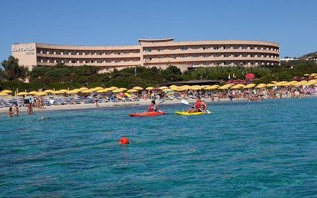 Itálie - Sardinie / Sardegna na 8 dní, polopenze nebo plná penze s dopravou letecky z Prahy, Sardinie / Sardegna