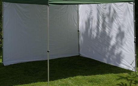 Garthen PROFI 432 Sada 2 bočních stěn pro zahradní altán 3 x 3 m - bílá