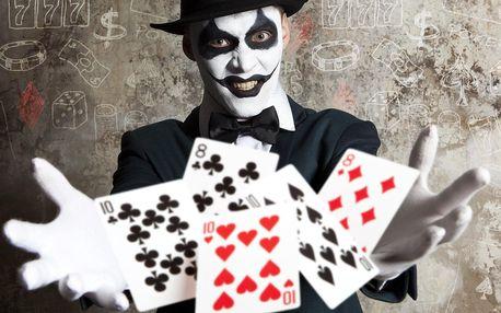 Úniková hra Hugovo casino pro 3 nebo 4 hráče