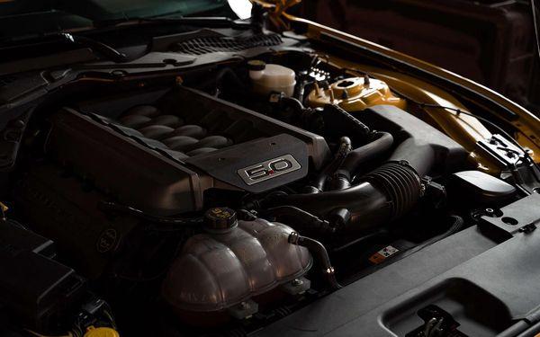 20 minut jízdy ve Fordu Mustang GT2