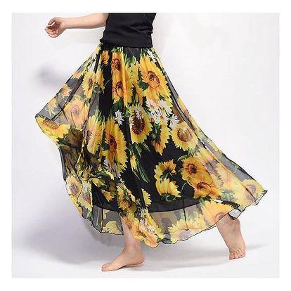 Dlouhá vzdušná sukně Summer - dodání do 2 dnů