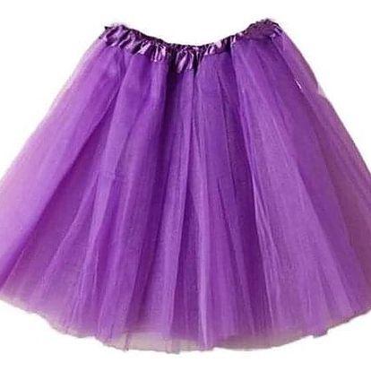 Dámská tutu mini sukně - Zelená - dodání do 2 dnů