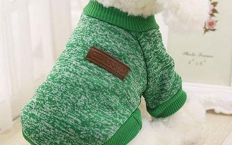 Zimní obleček pro psy - Tmavě Modrá-velikost č. 1 - dodání do 2 dnů