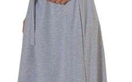 Maxi teplákové šaty - 3 barvy - dodání do 2 dnů