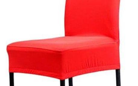Jednobarevný potah na židli - Tmavě růžová - dodání do 2 dnů