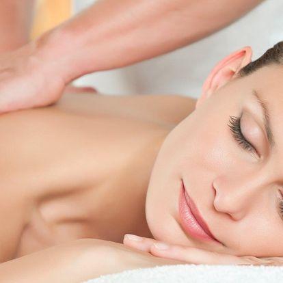 Sportovní, klasická i detoxikační masáž dle výběru