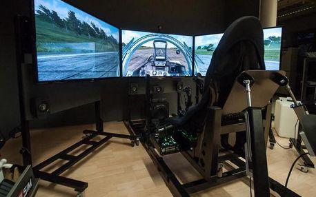 Pohyblivý letecký simulátor