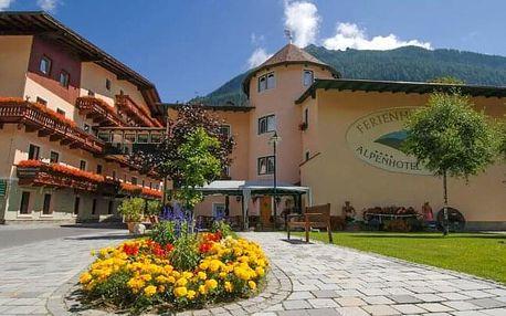 Vysoké Taury: Ferienhotel Alber *** s polopenzí, wellness a výbavou na túru