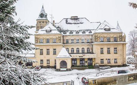 Pobyt na Kramářově zámku s polopenzí a saunou