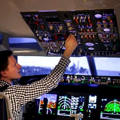 Let na simulátoru v Boeingu 737 MAX