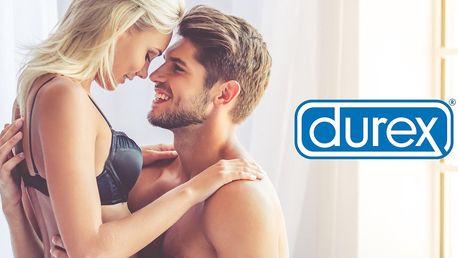 Zásoby kondomů Durex a sluneční brýle jako dárek
