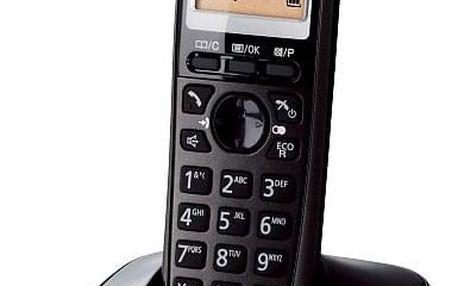 Domácí telefon Panasonic KX-TG2511FXT černý (KX-TG2511FXT)