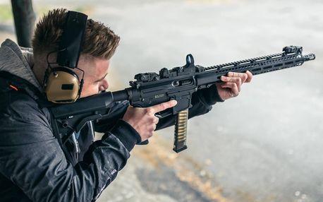 Netradiční rodinný zážitek: střelba z 9 zbraní