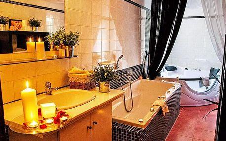 Nový Bor v luxusním hotelu Morris**** s bohatým wellness programem, polopenzí a bonusy