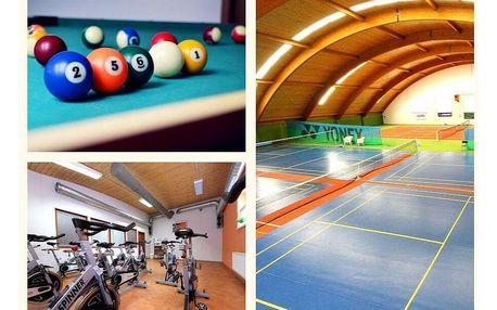 Pestrý sportovní víkend pro dva v zařízení S-centrum