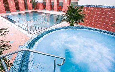 Turčianské Teplice: Hotel Rezident *** s polopenzí, aquaparkem a masáží