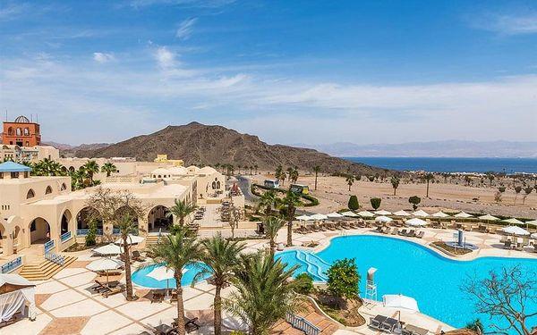 Hotel El Wekala Aqua Park Resort, Taba, letecky, all inclusive5