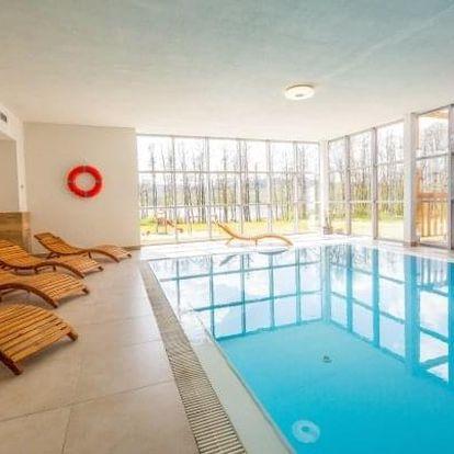 Lipno: Luxusní Hotel Orsino **** s polopenzí, finskou saunou, masáží a slevou