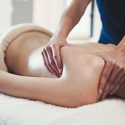 60minutová skandinávská uvolňující masáž proti bolesti zad