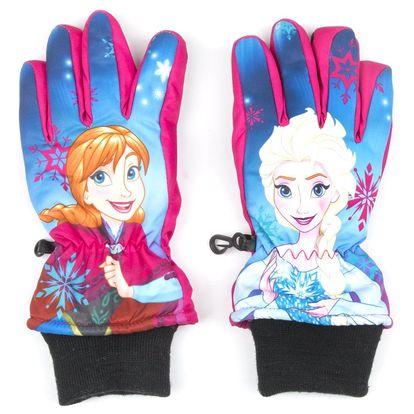 Disney Lyžařské nepromokavé rukavice Frozen Ledové Království