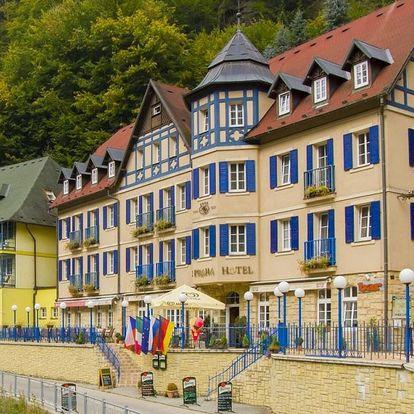 Neomezená konzumace vína v Hotelu Praha**** v Českém Švýcarsku