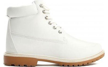 Dámské bílé kotníkové boty Petty 800