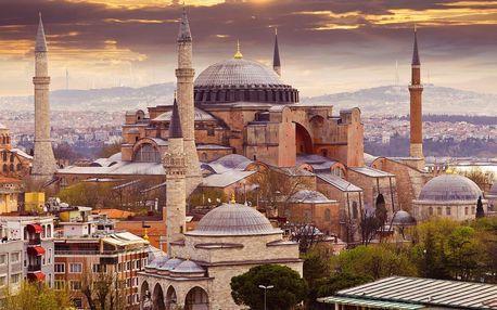 Pobyt v Istanbulu: hotel kousek od moře a snídaně