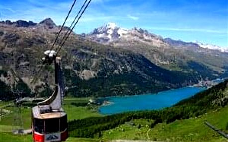 Švýcarsko - Svatý Mořic - s kartou, hotel***