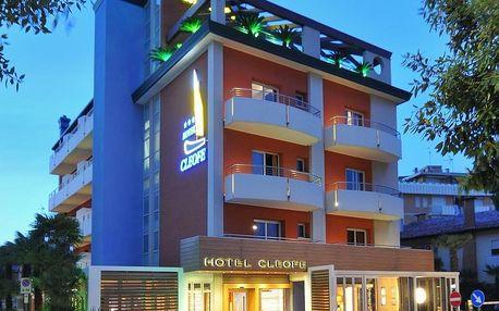 Itálie, Caorle: Hotel Cleofe