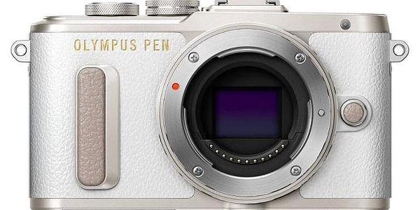 Digitální fotoaparát Olympus E-PL8 + 14-42 Kit stříbrný/bílý (V205081WE000)2
