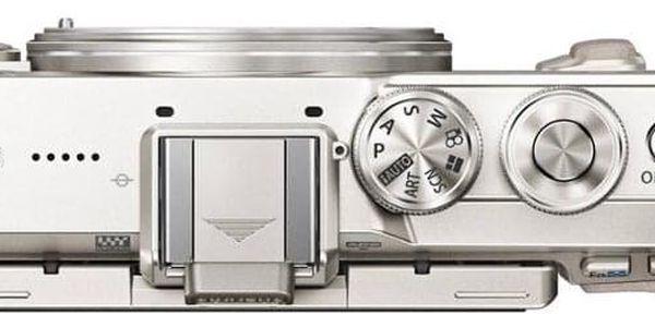 Digitální fotoaparát Olympus E-PL8 + 14-42 Kit stříbrný/bílý (V205081WE000)4