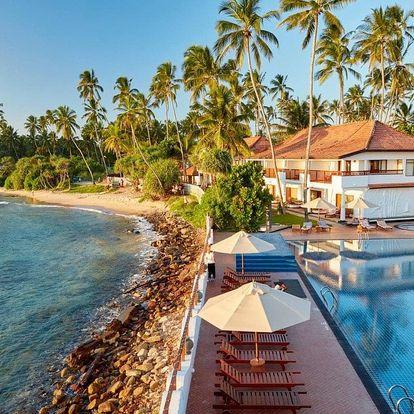 Srí Lanka - Tangalla na 9 dní, snídaně s dopravou letecky z Prahy, Tangalla
