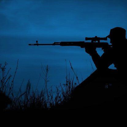 Dobrodružný střelecký balíček Noční sniper
