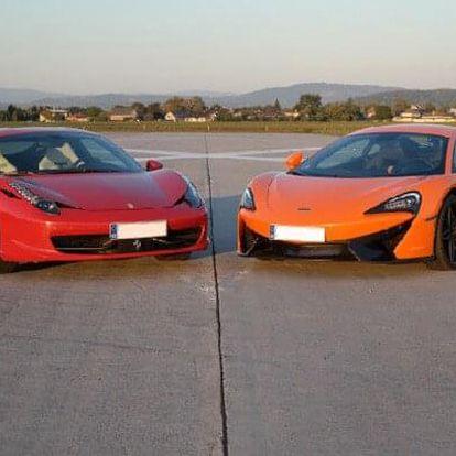 Ferrari 458 Italia vs. McLaren