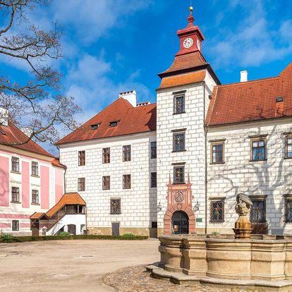 Pohodový penzion v Třeboni se snídaní i vstupy