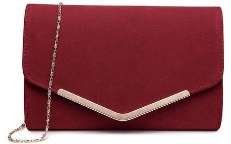 Dámské červené psaníčko Zorra 1756