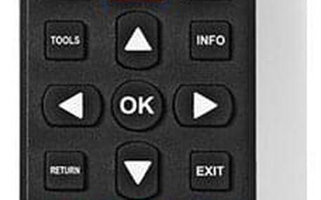 Dálkový ovladač Nedis 5v1 pro televize Samsung, LG, Sony, Philips, Panasonic (TVRC4051BK)